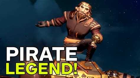 sea of thieves a player become the pirate legend