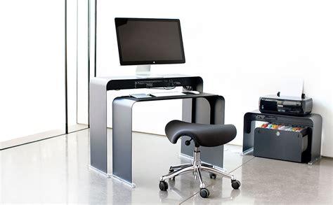bureau pour ordi bureau pour ordinateur peu profond en métal onelessoffice