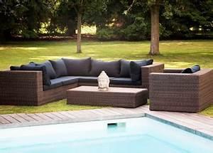 Promo Salon Jardin : mobilier de jardin en promotion salons tables transats ~ Teatrodelosmanantiales.com Idées de Décoration