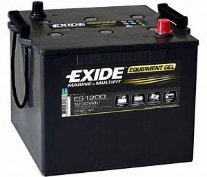 Batterie Exide Gel : exide equipment gel batterie es 1200 12v 110ah 1200wh akku ~ Medecine-chirurgie-esthetiques.com Avis de Voitures