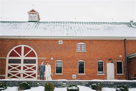 Célèste And Ryan's Cincinnati Winter Barn Wedding