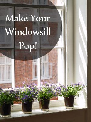 Window Sill Designs by 10 Easy Ways To Warm Up Your Windowsills For The Home