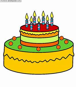 Dessin Gateau Anniversaire : dessin colori g teau d 39 anniversaire 7 ans par un ~ Melissatoandfro.com Idées de Décoration