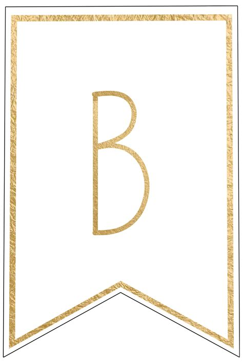 free letter templates free printable banner letters templates paper trail design 21856 | B