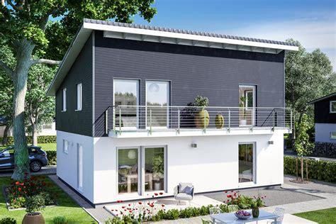 Häuser Mit Pultdach Und Garage by Haus Mit Pultdach Schw 246 Rerhaus