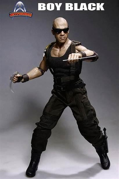 Riddick Boy Diesel Inch Eyes Animation Incoming
