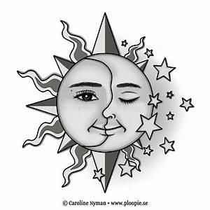 SunMoonStars Tattoo by Ploopie on DeviantArt