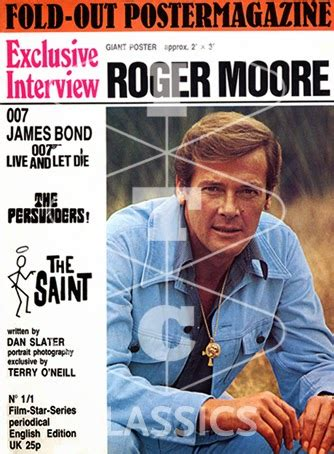 roger moore kingsman itc classics the persuaders uk poster magazines