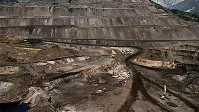 Mining Coal Mine Wallpapers Trucks Landscapes Cave