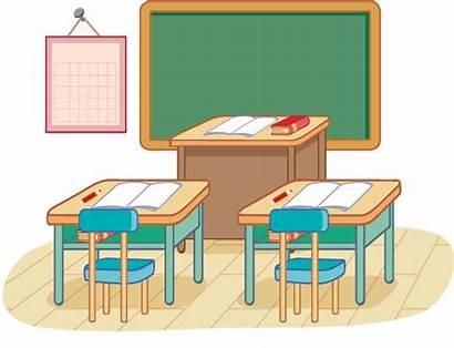 Classroom Clipart Vector Desk Transparent Clip Background