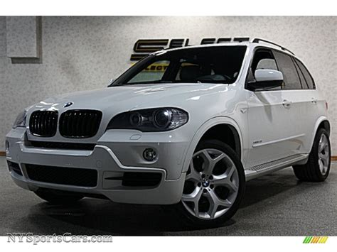 2009 Bmw X5 Xdrive48i In Alpine White