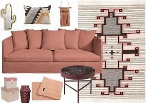 palette cosmetique la deco bonne mine joli place With tapis chambre bébé avec canapé chesterfield velours rose