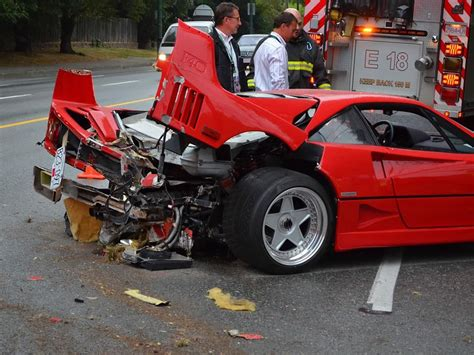 How Much Is A F40 Worth by F40 Owner Sues Insurer For Not Covering 1 Million