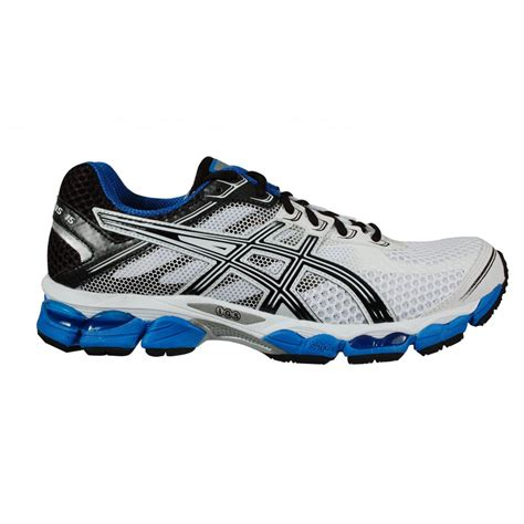 White Asics Running Shoes Men