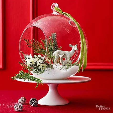 christmas table centerpieces to make easy to make centerpieces better homes gardens
