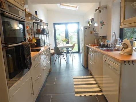 galley kitchen extension ideas galley kitchen extension would bifold doors reno 3700