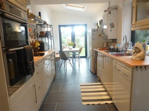 galley kitchen extension ideas galley kitchen extension would bifold doors reno