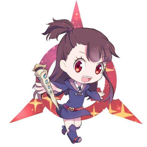 chibi kagari atsuko witch academy chibi drawings