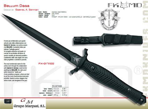 best kitchen knives 100 bellum daga fox tactical knives