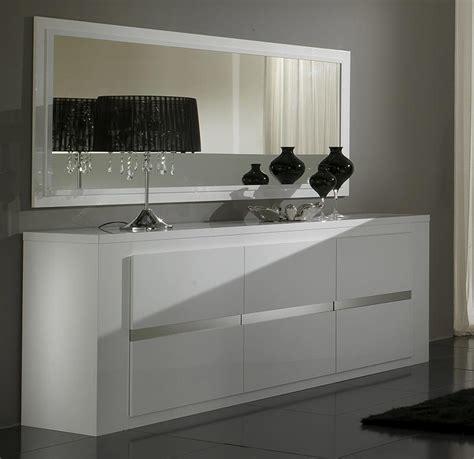 meuble cuisine laqué charmant buffet salle a manger pas cher 3 miroir bahut