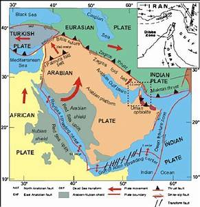 Cenozoic Tectonic Setting Of The Arabian Plate  From
