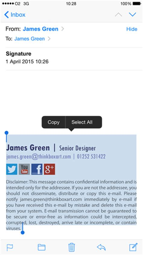 iphone email signature create an html iphone email signature the email