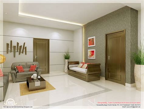 kerala home interior design gallery awesome 3d interior renderings kerala house design