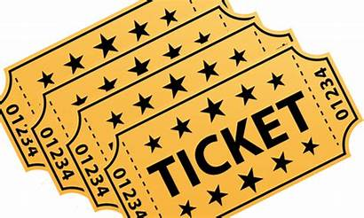 Raffle Tickets Clipart Ticket Prizes Transparent Event