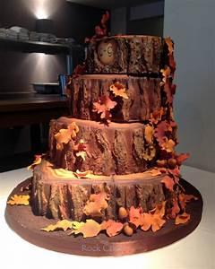 Autumn Wedding Cake - CakeCentral com