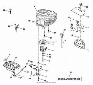 Ayp  Electrolux Pdgt26h54a  2004  Parts Diagram For Engine