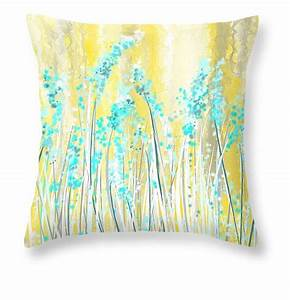 blue and yellow throw pillows deltaqueenbook With blue green and yellow throw pillows