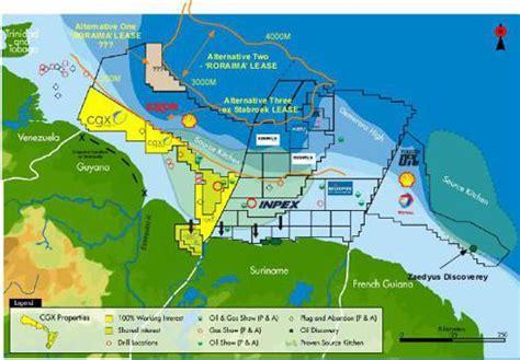 Anadarko's Deep Water Activities Near Guyana: Significant ...