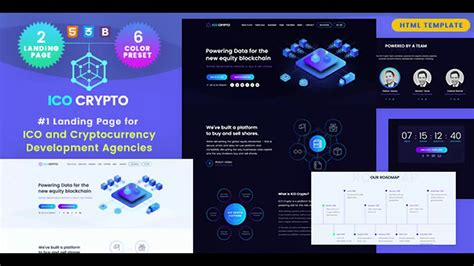 It comes with a responsive design, and the visual page. ICO Crypto - Bitcoin & Cryptocurrency Landing Page HTML Template | Themeforest Website Templates ...