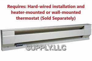 Wall Electric Baseboard Heater By Cadet Convection He