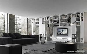 Wohnzimmer Regale : designer regale von presotto italia moderne wohnzimmer ~ Pilothousefishingboats.com Haus und Dekorationen