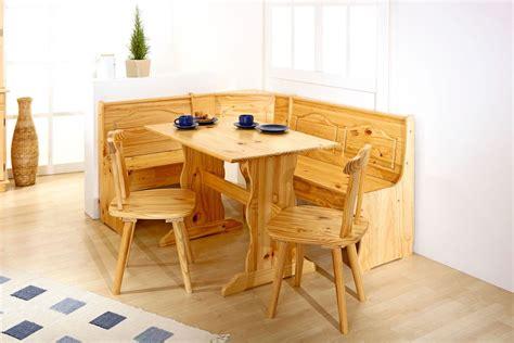 table de cuisine d angle coin repas en pin massif naturel montana coin repas cuisine