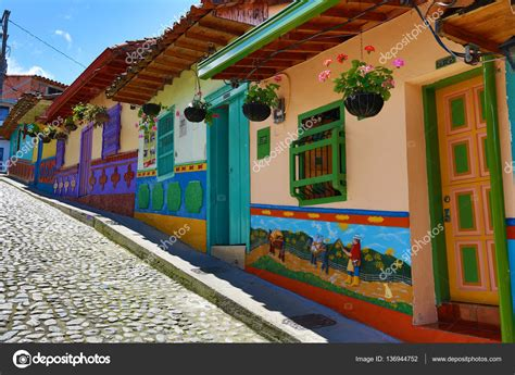 Colorful Colonial by Colourful Colonial Architecture In Guatape Colombia