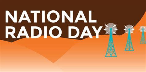 national radio day printable calendar templates