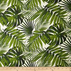 Tempo Tropical Botanics Natural - Discount Designer Fabric ...