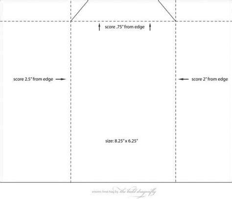 potato chip party bag template templates printable