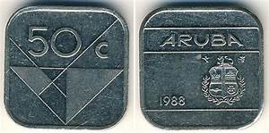 Coin De Finition Plinthe : 50 cent 1988 aruba copper nickel prices values ~ Melissatoandfro.com Idées de Décoration