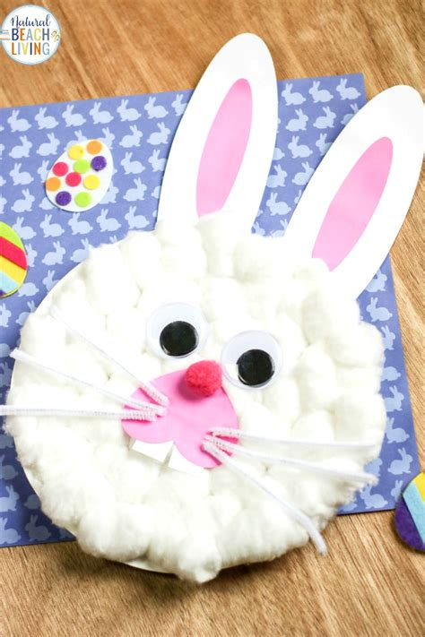 easter bunny paper plate craft   bunny template