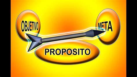 Objetivo Proposito Meta