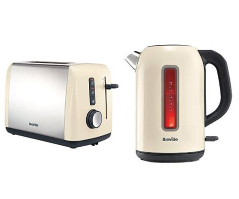 coloured toaster and kettle set breville colour collection kettle and 2 slice toaster set