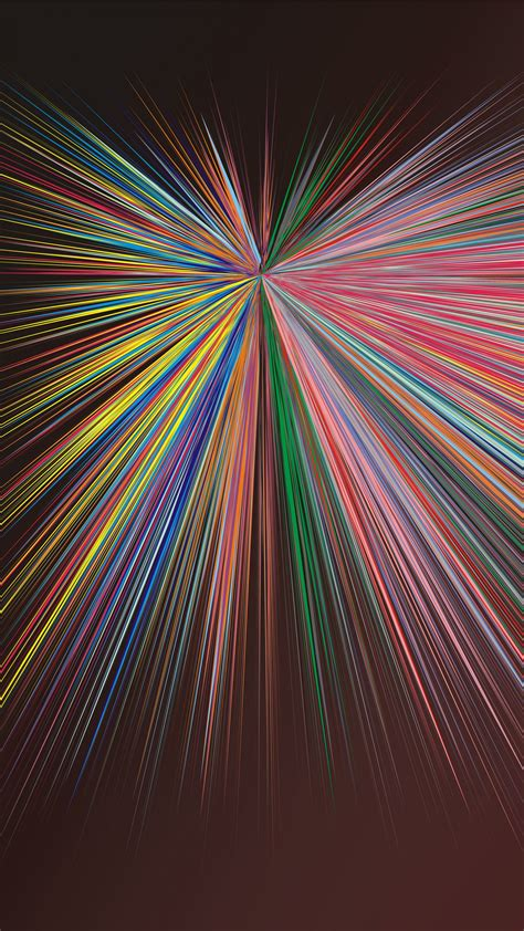 abstraction lines rays bright colorful wallpaper