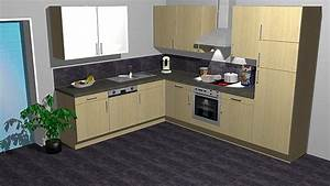 Küchen Ohne Geräte L Form : kitchenclick musterk che kleine k che in l form ~ Michelbontemps.com Haus und Dekorationen
