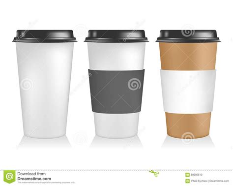 Three Plastic Coffee Cup Templates. Paper Cup To Go. Stock Seattle Coffee Gear Wholesale Tree Youtube Quest Coconut Oil Powder In Rok Eating Information And Lip Scrub House Salento