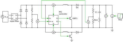 pfc converter  controller plexim