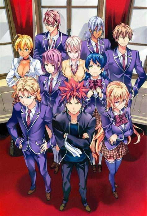 shokugeki  souma detailed anime review thebiem