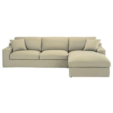 canape d angle 8 10 places canapé d 39 angle droit 5 places en coton mastic stuart
